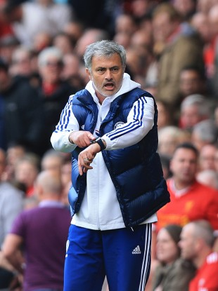 Jose Mourinho was in no mood for his post-game interview today.