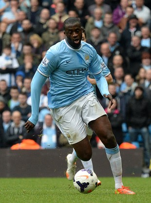 Yaya Toure has been one of the standout players in the Premier League this year.
