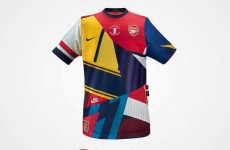 Nike marks 20 years of Arsenal jerseys with cool commemorative shirt
