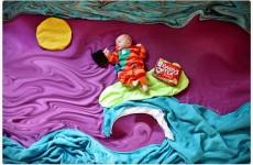 Dublin mum creates beautiful fairytale scenes with her baby and Barry's Tea