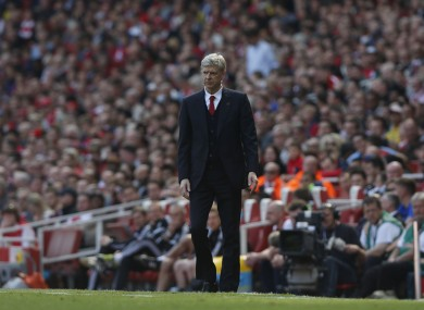 Future plans: Wenger says he's of the German culture.