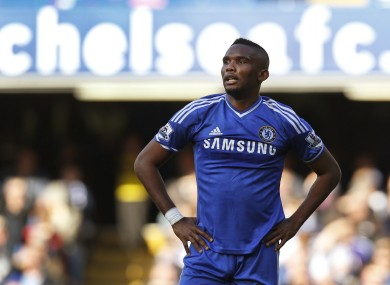 Eto'o has criticised Mourinho's infamous comments about the star's age.