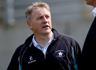 O'Sullivan had a stint in a consultancy role with Garryowen this season.