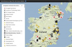 Ever wonder what the Irish gaming industry looks like today? This map will show you