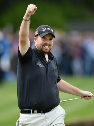 Lowry celebrates at Wentworth.