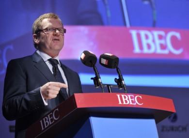 IBEC Director General Danny McCoy