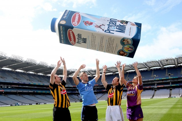 Jackie Tyrell, Paul Mannion, Tommy Walsh and Mags Darcy