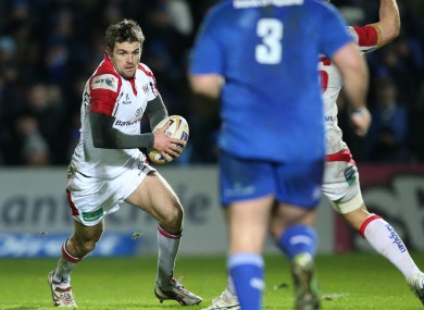 Jared Payne starts at outside centre for Ulster.