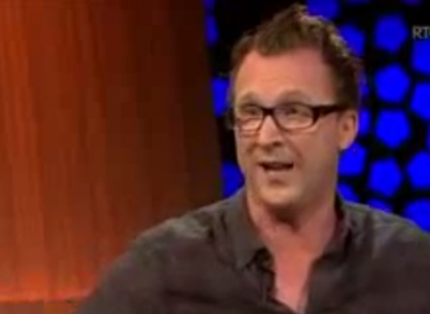 Jason Byrne described the audience as 'knackers'.