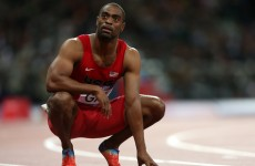 Tyson Gay hands back his Olympic medal after he's hit with one-year doping ban