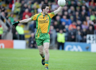 McHugh in happier days with Donegal.