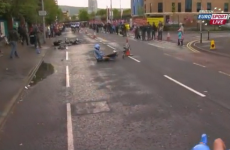 Ireland's Dan Martin crashes out of Giro d'Italia after just 14 minutes