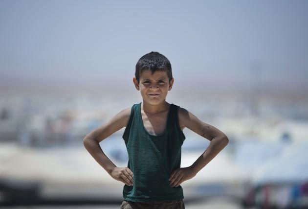 Mideast Jordan Refugee Children Photo Essay