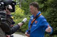 Louis van Gaal vows to make Manchester United history