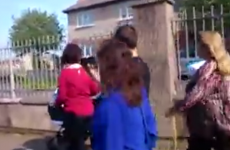 """VIDEO: Labour candidate confronted in Dublin, """"thuggery and intimidation"""" says Joan Burton"""