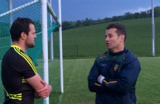 Shay Given spent his Friday night at Donegal county training