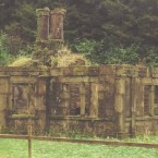Salterbridge Gatelodge in Waterford before restoration