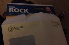 Fine Gael's 'no expenses' candidate uses Seanad envelopes to send out leaflets