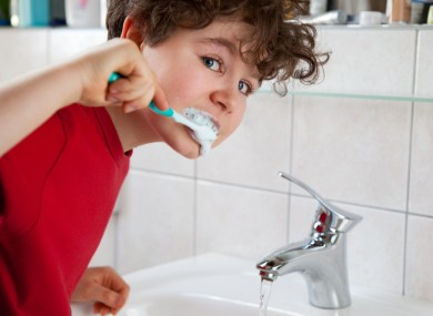 There'll be no water running as you brush your teeth from now on....