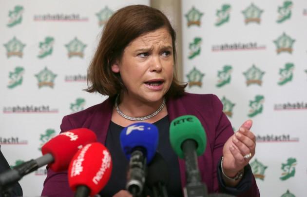 Sinn Fein launch their 'Protecting Wor