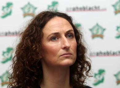 Lynn Boylan, one of the Sinn Féin candidates.