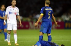 'What I said wasn't very nice perhaps' – Materazzi conscience clear on famous Zidane incident