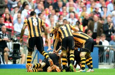 All five goals from today's FA Cup final