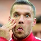 Arsenal's Lukas Podolski.<span class=