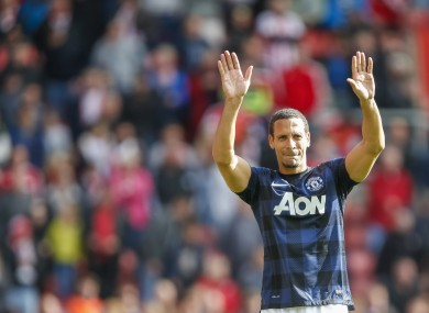 Defender Rio Ferdinand has not been offered a new contract by Manchester United.