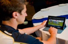 This iPad app allows Munster and the Lions to review their video analysis