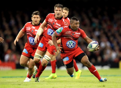 Armitage leads the way for Toulon against Saracens.
