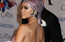 Rihanna turned up basically naked to an awards show (NSFW)… The Dredge