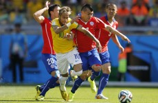 As it happened: Brazil v Chile, World Cup last 16