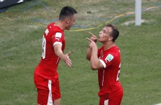 Classy Shaqiri hat-trick inspires Switzerland to victory against Honduras