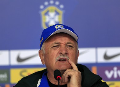 Scolari's side are among the favourites to lift the trophy.