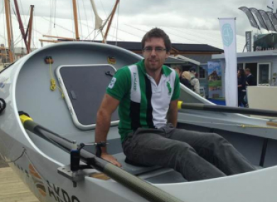 Cavanagh is hoping to become the first Irishman to row 2,100 miles across the Pacific Ocean.