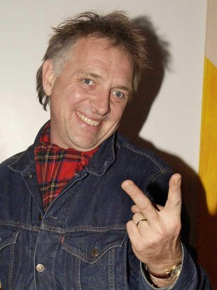 Rik Mayall pictured in 2004.