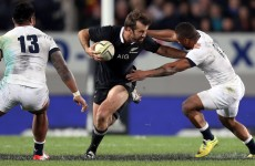All Blacks centre Smith ruled out of third Test against England