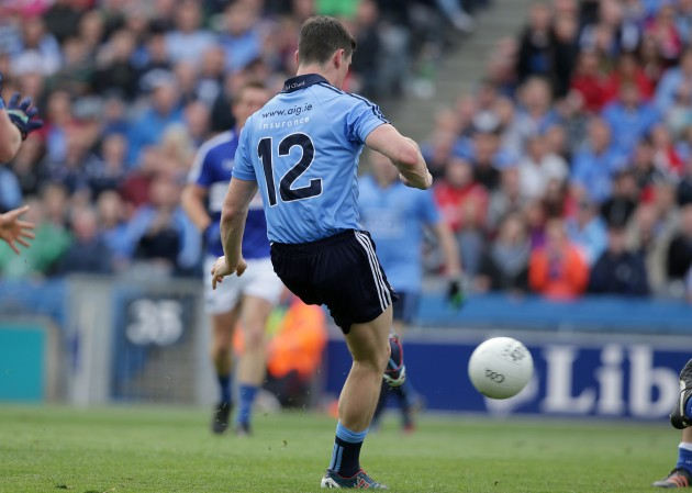Diarmuid Connolly scores a goal