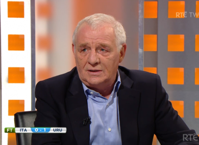 Eamon Dunphy discusses Luis Suarez' latest indiscretion.