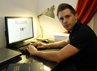 Austrian student Max Schrems who made the complaint against the Data Commissioner.