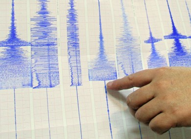 Richter scale readings (File photo)