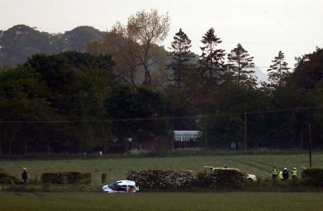 Jim Clark Rally crash