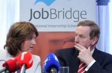 Joan Burton's department has refused to name most of the companies who use JobBridge