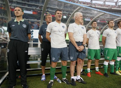 O'Neill and Keane in New Jersey on Tuesday night.