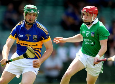 Willie Griffin (right) was in action for Limerick today - file photo