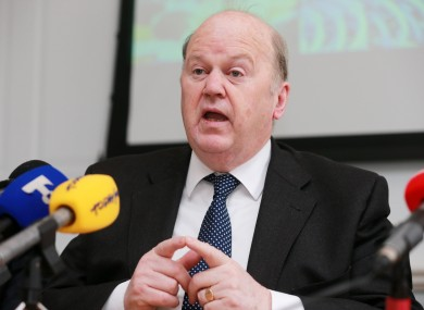 Michael Noonan is expected to deliver the Budget in October