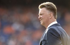 Van Gaal: I want to be liked by my players