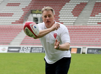 O'Sullivan is head coach at Pro D2 club Biarritz.