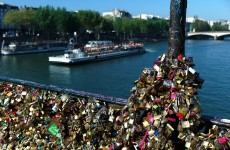 Too much love? Paris 'love locks' bridge evacuated after railing collapses
